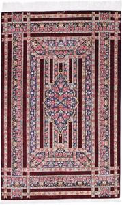 5x3 silk 800kpsi qum persian carpet