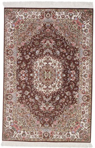 600 KPSI Pure Silk Qum Persian rug