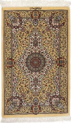 3x2 700kpsi genuine silk qum rug
