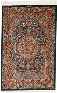 4x3 900kpsi silk qum carpet