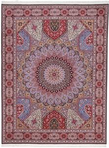 13x9 400kpsi silk gonbad tabriz rug