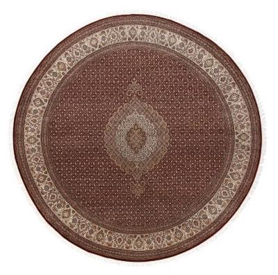 10x10 round wool mahi persian rug