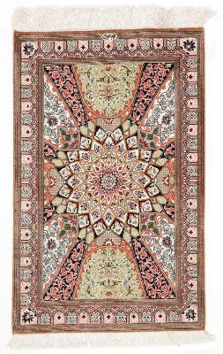 3x2 750kpsi gonbad qom persian rug