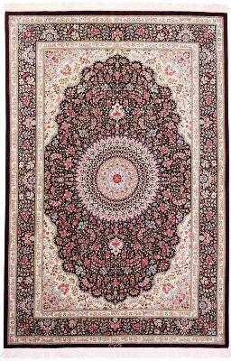 7x5 qum persian rug silk 600kpsi