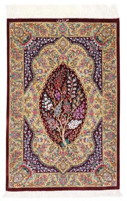 3x2 750kpsi silk qom carpet