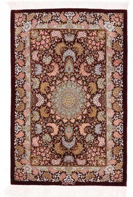 3x2 900kpsi silk qom persian rug