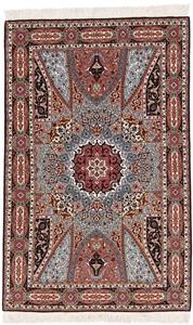 55raj gonbad tabriz with silk