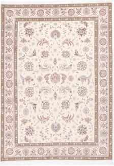 8x5 faraji silk tabriz persian rug