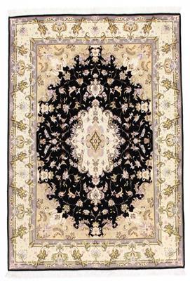 8x5 handmade tabriz persian rug