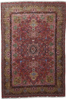 16x11 500kpsi silk tabriz persian carpet