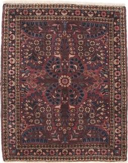 antique sarough persian carpet