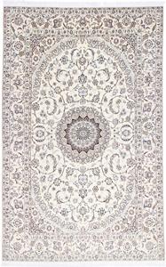 10x6 beige nain persian rug