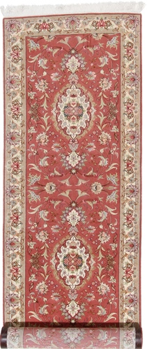 10x3 long tabriz runner carpet