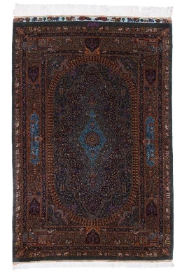 4x3 900kpsi silk qum persian carpet