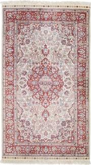 4x3 silk hereke rug