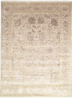 10x7 wool persian rug with silk highlights