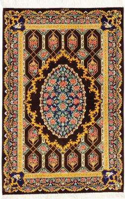 Qum Silk Persian rugs - Qom carpets