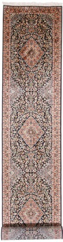 20x2 Runner 350KPSI silk Kashmir Persian rug, 18/18 kashmir carpet