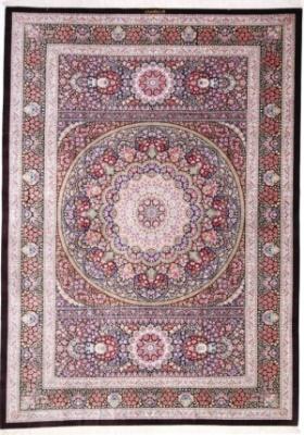 11x8 qum persian rug silk 700kpsi