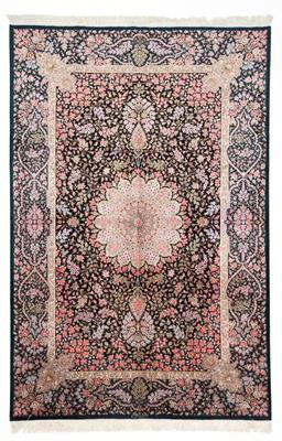 7x5 qum persian carpet silk 750kpsi