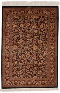 5x3 versace silk qum persian rug