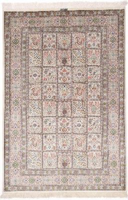 6x4 silk 700kpsi qum persian rug