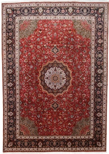 16x11 high quality tabriz persian rug