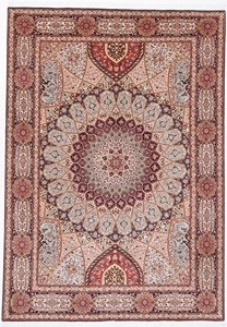 11x8 high quality gonbad tabriz rug