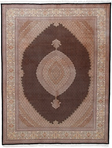 10x13 mahi tabriz persian rug with 350 kpsi.