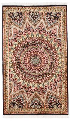 5x3 silk kashmir persian rug