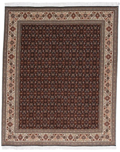 8x6 mahi tabriz rug with silk