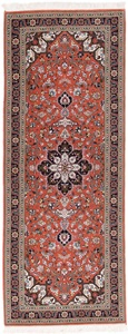 signed 6x2 tabriz persian rug runner