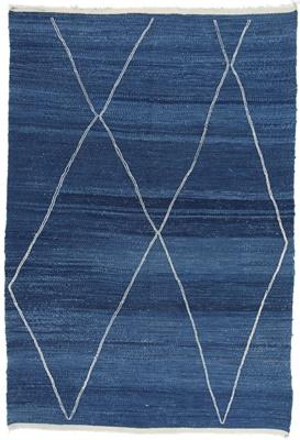 beni ourain berber rug 9x6