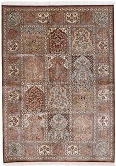 6x4 350KPSI silk Kashmir Persian rug, 18/18 kashmir carpet