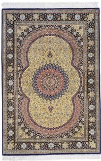 5ft 3ft silk 700kpsi qum persian rug