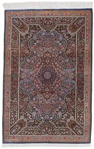 4x3 900kpsi silk qum persian rug