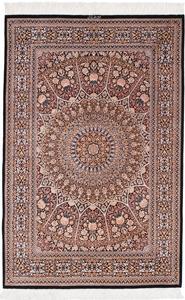 5x3 gonbad qum silk persian rug