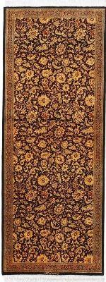 6x2 versace silk qum persian rug runner