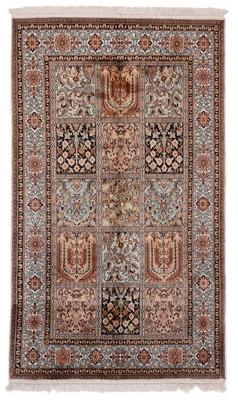 5x3 tile design silk kashmir persian carpet