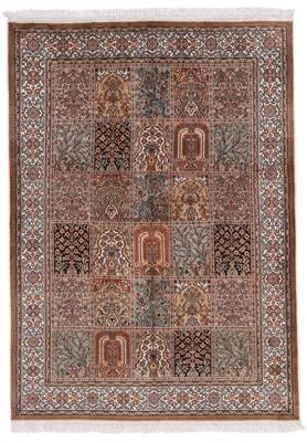 5x4 silk kashmir persian rug