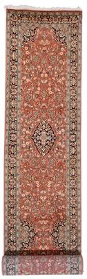11x2 handmade kashmir silk rug runner