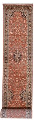12x2 handmade kashmir silk rug runner