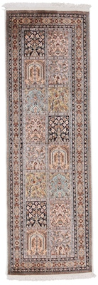 6x2 tile pattern kashmir persian rug runner