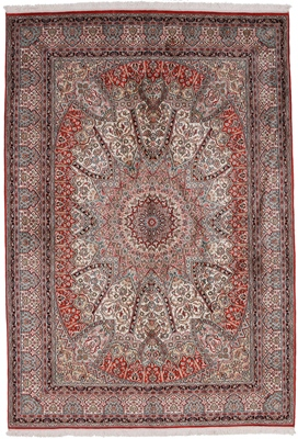 gonbad dome design persian rug