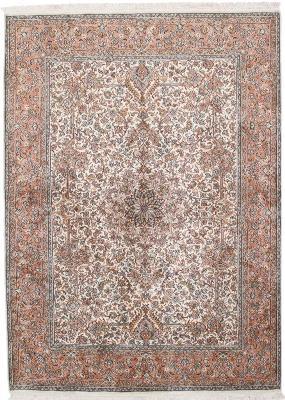 handmade silk Kashmir Persian Rug