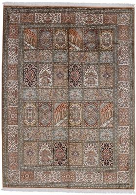 silk tile design persian rug