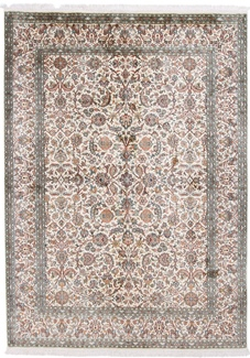 2m silk kashmir carpet