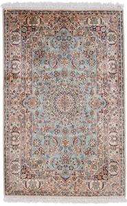 4x2 silk kashmir persian rug