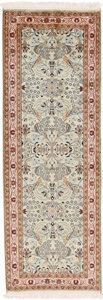 6x2 twin silk kashmir persian rug runner
