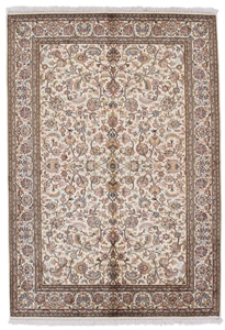 6x4 kashmir silk carpet